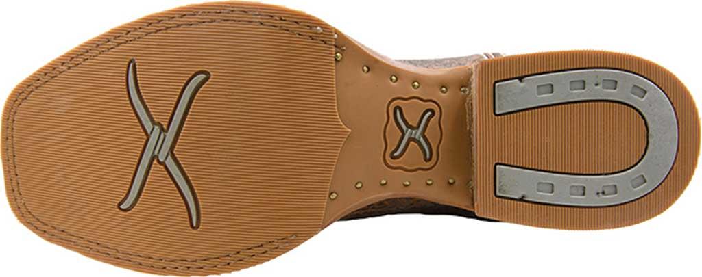 Men's Twisted X MRA0007 Rancher Cowboy Boot, Cognac Elephant Print/Cognac Basketweave Leather, large, image 5