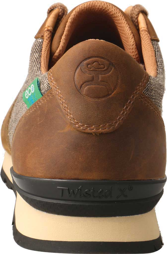 Men's Twisted X MHWA001 Hooey Sneaker, Tan/Dust Leather, large, image 4