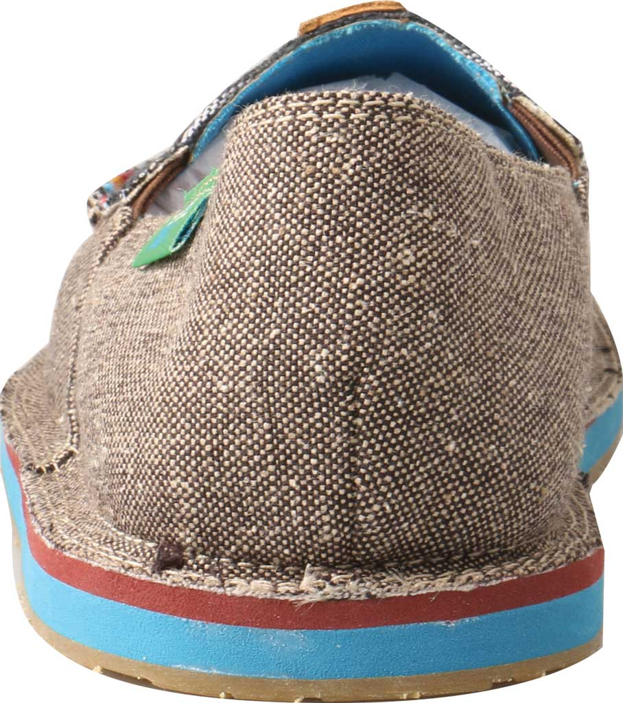 Women's Twisted X WCL0005 ECO TWX Driving Moc Loafer, Dust/Multi Canvas, large, image 3