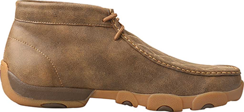 Men's Twisted X MDM0076 Driving Moc Chukkah, Bomber Leather, large, image 2