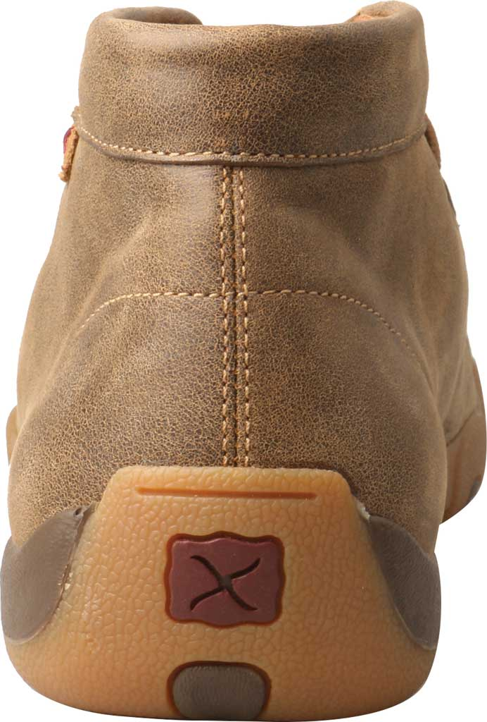Men's Twisted X MDM0076 Driving Moc Chukkah, Bomber Leather, large, image 4