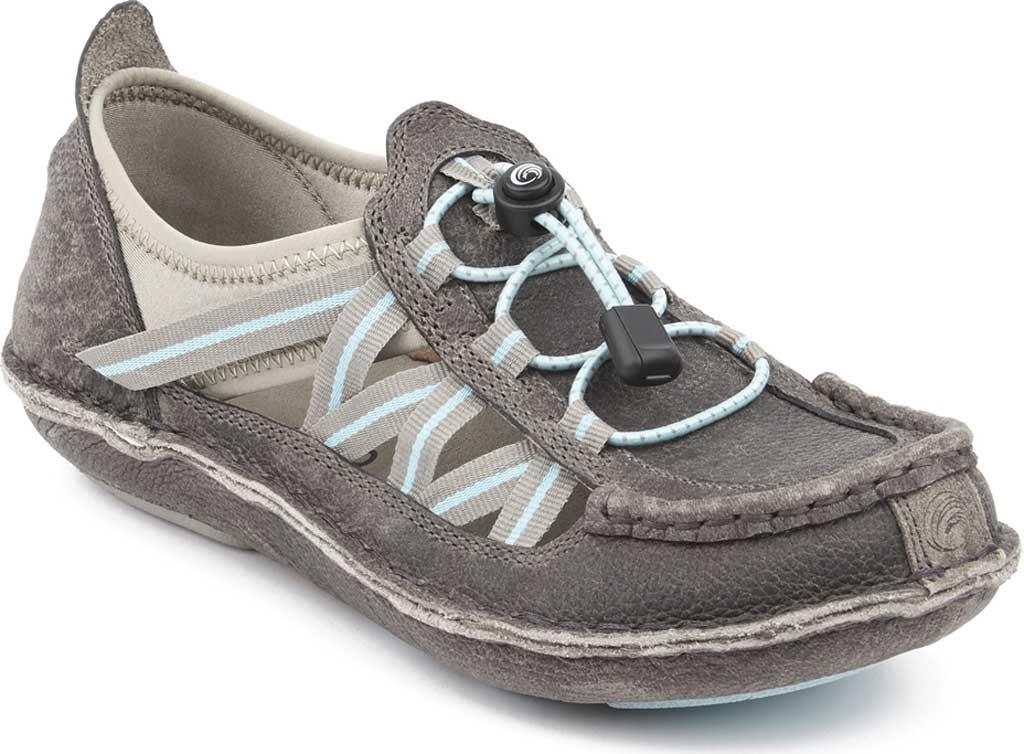 Women's Tamarindo Mangrove Water Shoe, Pebble/Sky Full Grain Leather, large, image 1