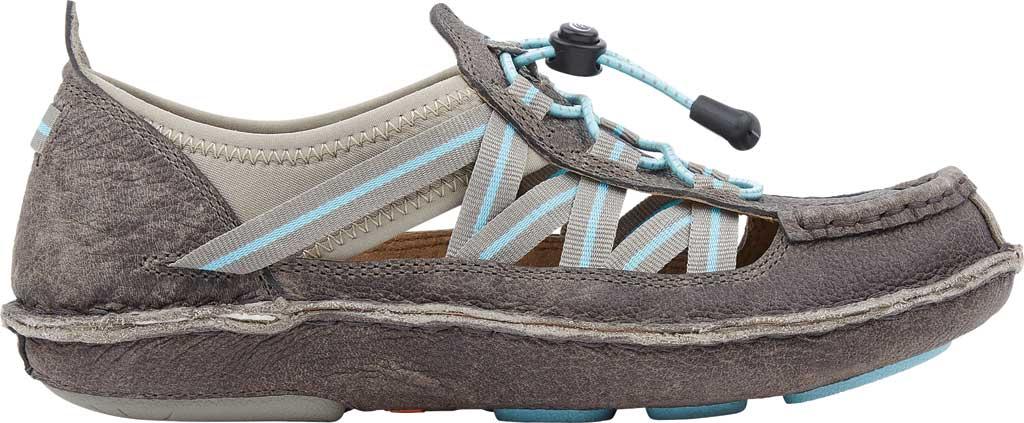 Women's Tamarindo Mangrove Water Shoe, Pebble/Sky Full Grain Leather, large, image 2
