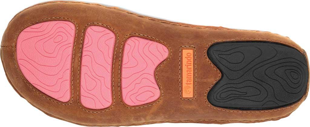 Women's Tamarindo Tidal Thong Sandal, Sand/Pink Multi Full Grain Leather, large, image 4
