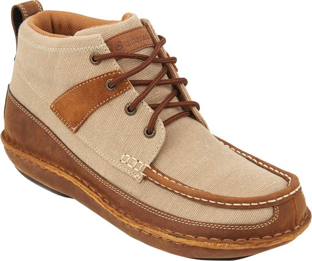 Men's Tamarindo Canopy Boot, Suntan/Shell Eco-TWX Canvas/Full Grain Leather, large, image 1