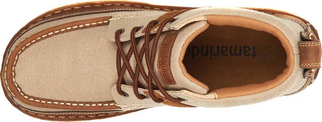 Men's Tamarindo Canopy Boot, Suntan/Shell Eco-TWX Canvas/Full Grain Leather, large, image 3