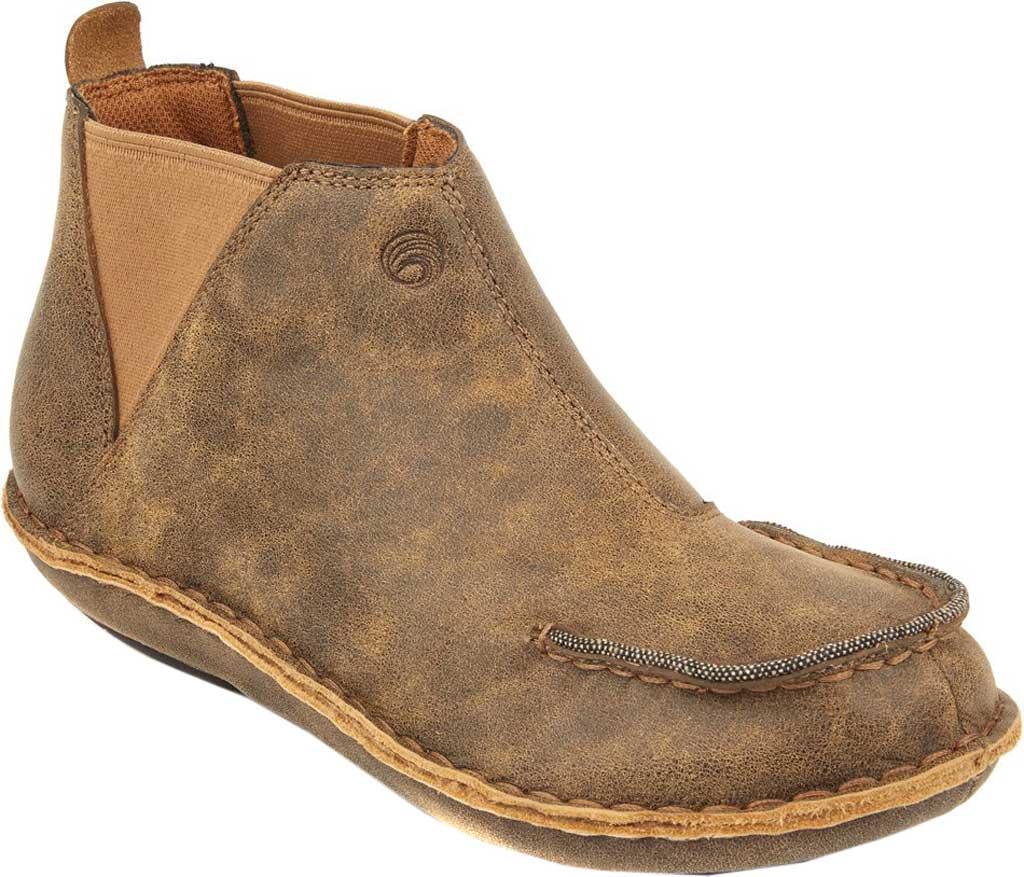 Women's Tamarindo Seafarer Chelsea Boot, Sand Full Grain Leather, large, image 1