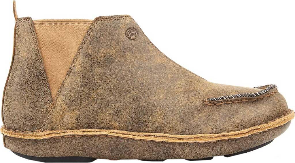 Women's Tamarindo Seafarer Chelsea Boot, Sand Full Grain Leather, large, image 2