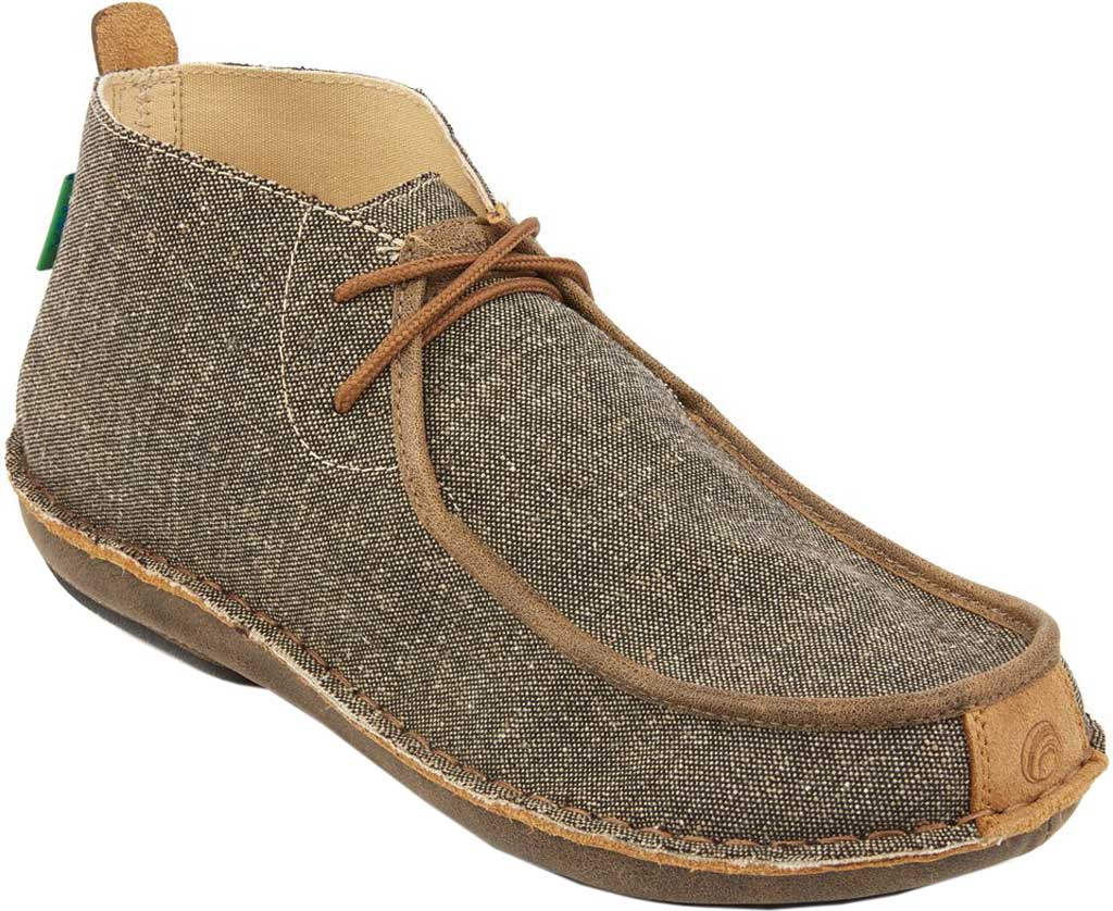 Men's Tamarindo Jetty Chukka Boot, Ash/Sand Eco-TWX Canvas/Full Grain Leather, large, image 1