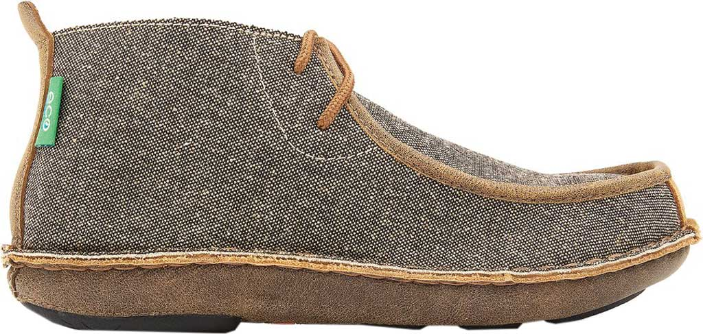 Men's Tamarindo Jetty Chukka Boot, Ash/Sand Eco-TWX Canvas/Full Grain Leather, large, image 2
