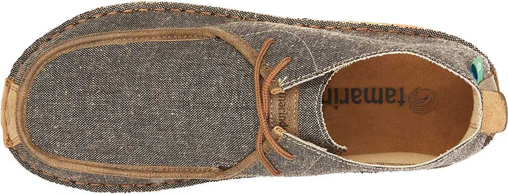 Men's Tamarindo Jetty Chukka Boot, Ash/Sand Eco-TWX Canvas/Full Grain Leather, large, image 3