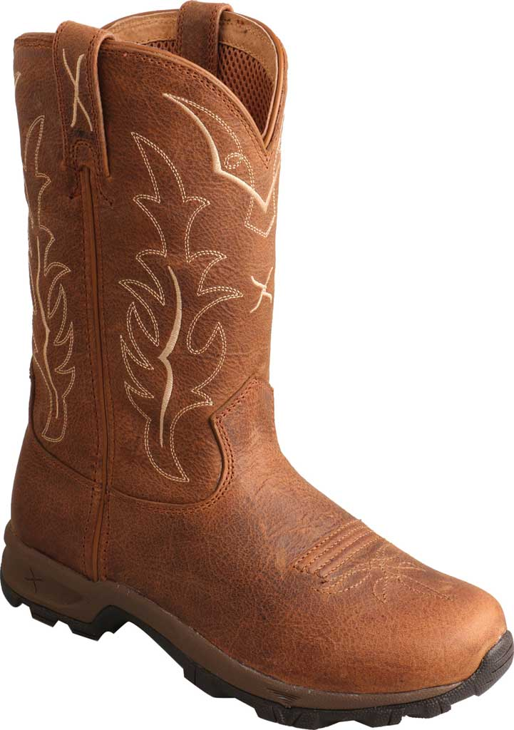 Women's Twisted X WHKB002 Hiker Cowgirl Boot, Rust Leather, large, image 1