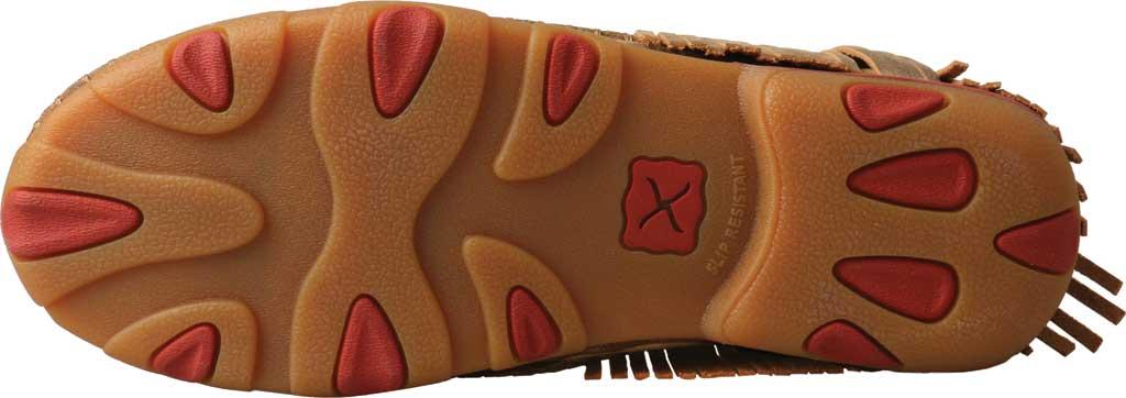Women's Twisted X WDM0090 Driving Moc, Bomber/Multi Pattern Leather/Fabric, large, image 4