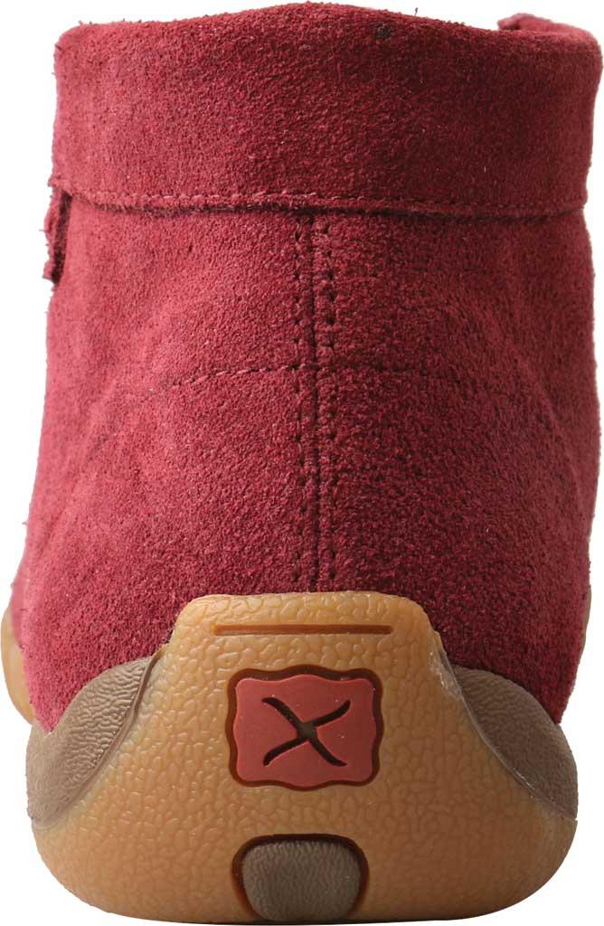 Women's Twisted X WDM0122 Driving Moc, Wine Leather, large, image 3
