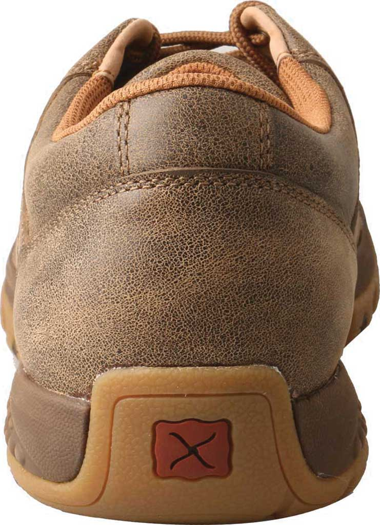 Men's Twisted X MXC0002 CellStretch Casual Driving Moc, Bomber Full Grain Leather, large, image 3