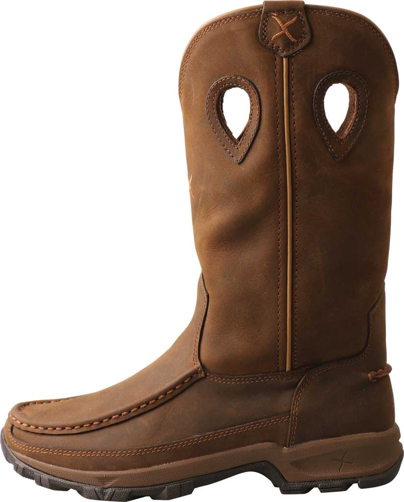 Women's Twisted X WHKB001 Hiker Cowgirl Boot, Distressed Saddle Leather, large, image 2