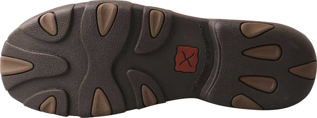 Men's Twisted X MDMS017 Driving Moc, Oiled Saddle/Brown Leather, large, image 4