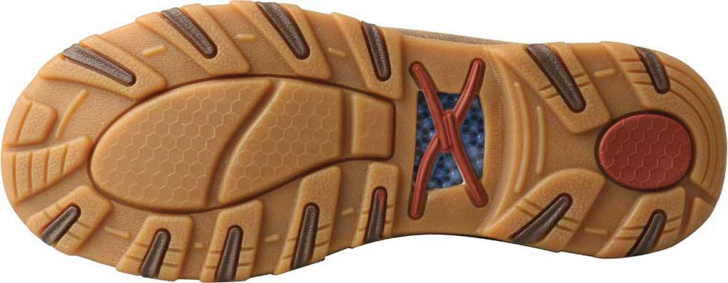 Women's Twisted X WXC0002 CellStretch Casual Chukka Driving Moc, Bomber/Khaki Full Grain Leather/Fabric, large, image 4