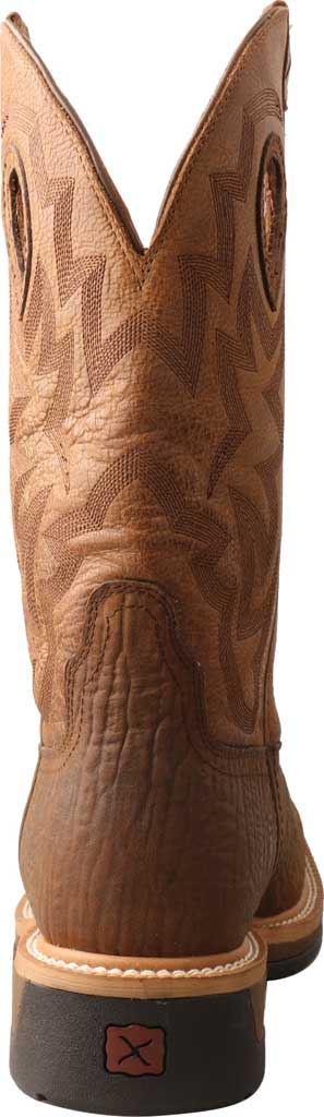 Men's Twisted X MLCCW05 Lite Weight Cowboy Work Boot, Bark Brown/Tan Leather, large, image 3