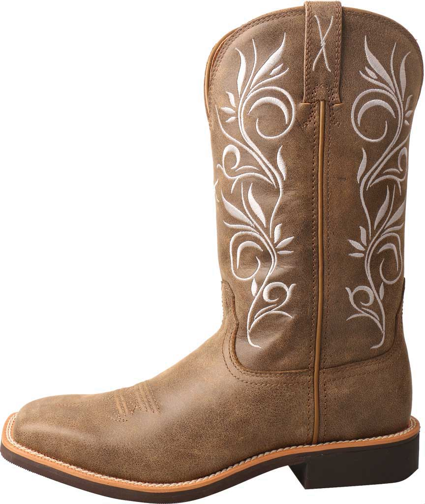 Women's Twisted X WTH0012 Top Hand Cowgirl Boot, Bomber/Bomber Leather, large, image 2