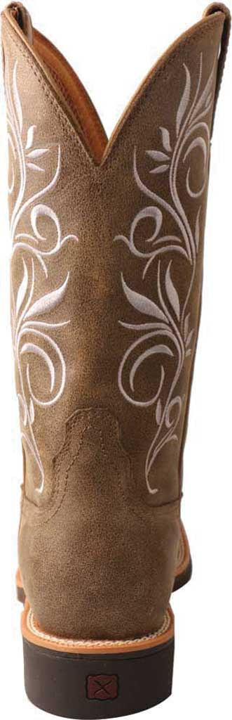 Women's Twisted X WTH0012 Top Hand Cowgirl Boot, Bomber/Bomber Leather, large, image 3