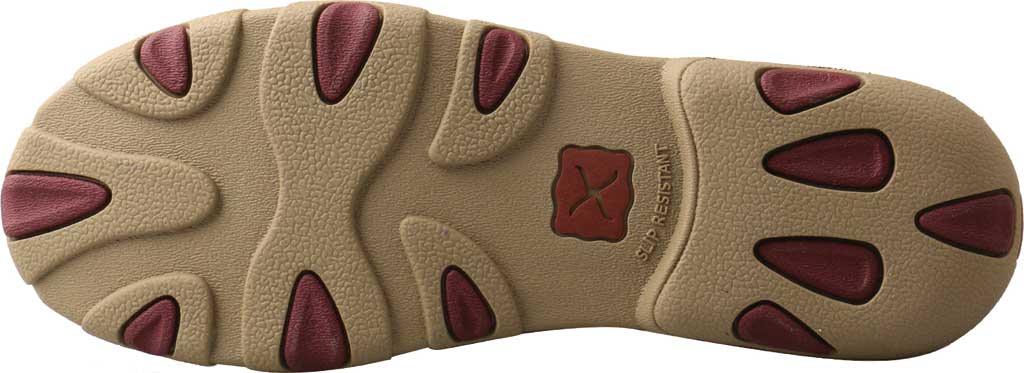 Women's Twisted X WDM0121 Driving Moc, Grey/Berry Leather, large, image 4