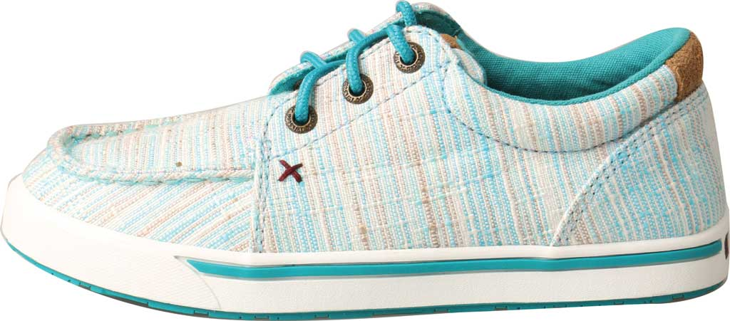 Children's Twisted X YHYC005 Hooey Sneaker, Blue/Multi Fabric, large, image 2