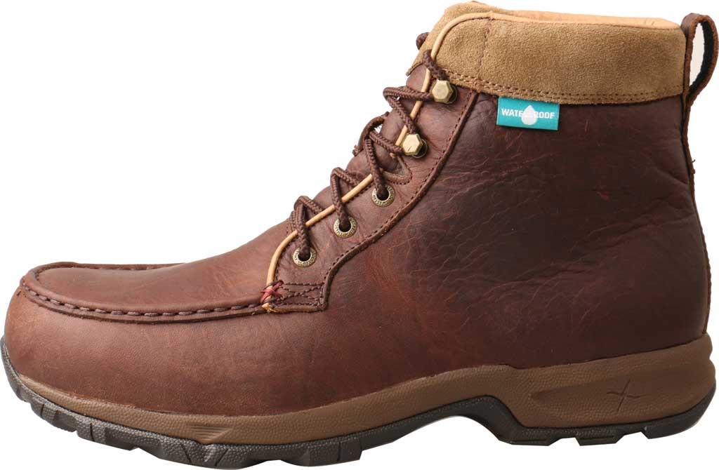 Men's Twisted X MHKWC03 Waterproof Composite Toe Boot, Dark Brown Leather, large, image 2