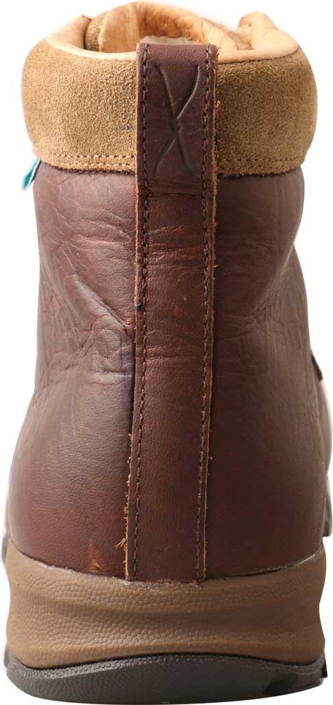 Men's Twisted X MHKWC03 Waterproof Composite Toe Boot, Dark Brown Leather, large, image 3