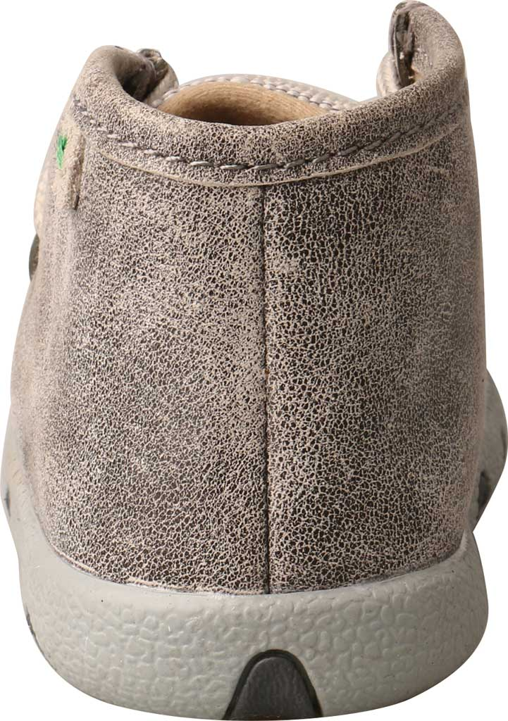 Infant Twisted X ICA0012 Casual Bootie, Grey/Light Grey Leather/Fabric, large, image 4