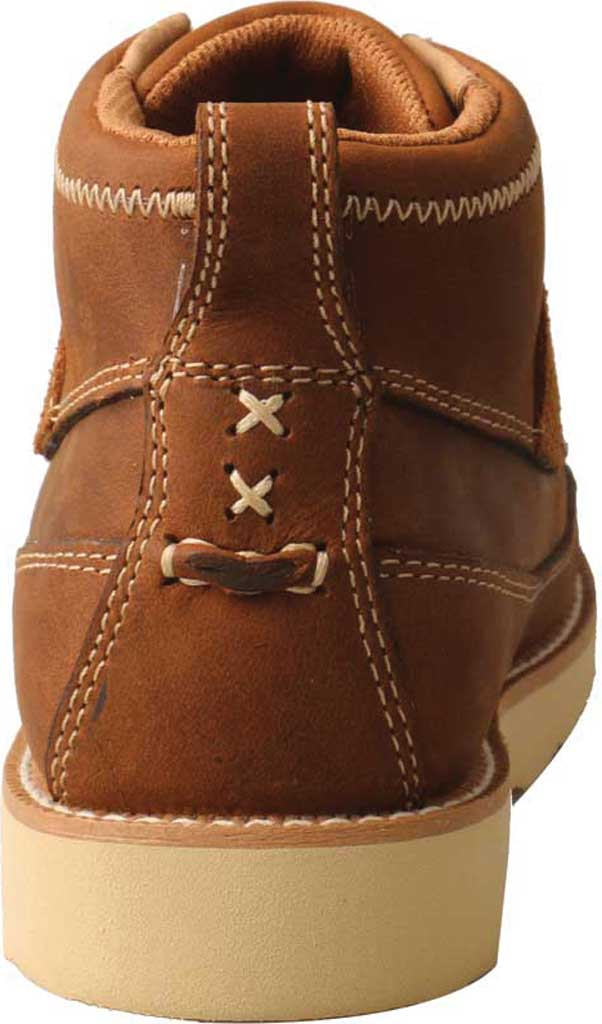 Children's Twisted X YCA0001 Lace Up Boot, Brown Oiled Saddle Leather, large, image 4