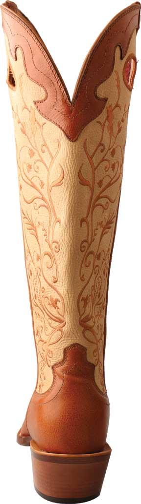 "Women's Twisted X WBKL008 16"" Buckaroo Knee High Cowgirl Boot, Saddle/Hazel Full Grain Leather, large, image 4"
