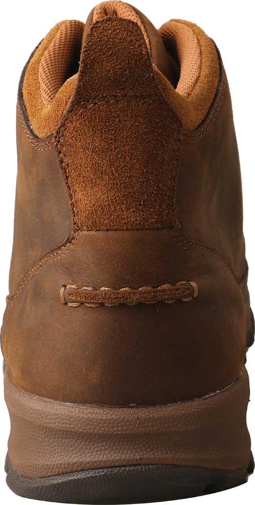 "Men's Twisted X MHK0011 4"" Moc Toe Hiker Boot, Distressed Saddle Full Grain Leather, large, image 4"