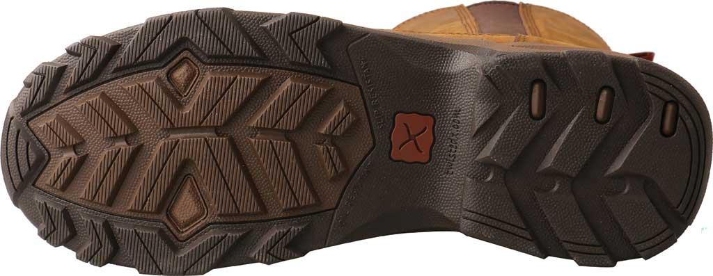 "Men's Twisted X MHKB003 8"" Moc Toe Pull On Hiker Boot, Distressed Saddle Full Grain Leather, large, image 5"