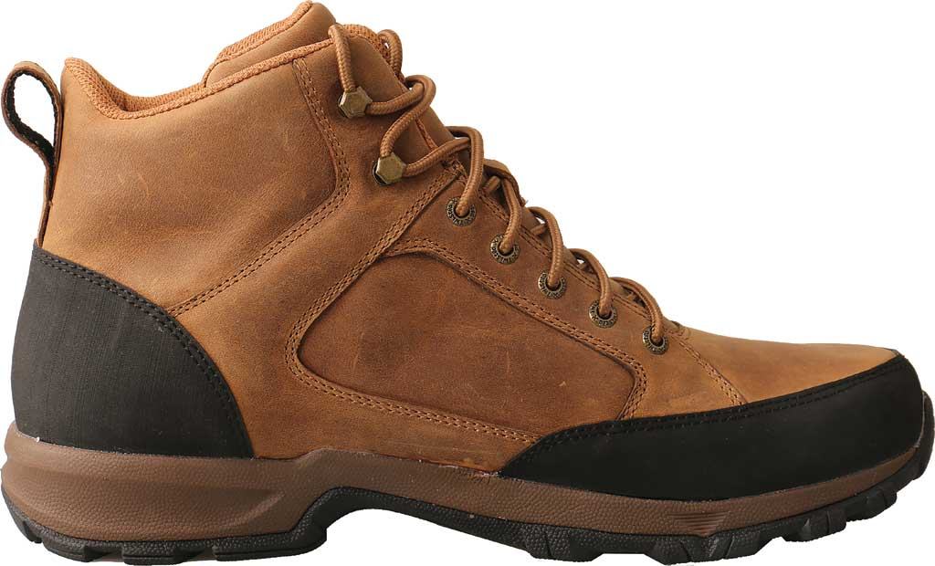 "Men's Twisted X MHKW006 6"" Waterproof Hiker Boot, Tan Full Grain Leather, large, image 2"