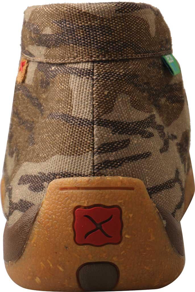 Men's Twisted X MDM0082 Mossy Oak Casual Chukka Driving Moc, Camo Eco Tweed, large, image 4