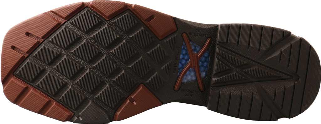 "Men's Twisted X MXBAW01 12"" Alloy Toe Western Waterproof Work Boot, Mocha/Navy Full Grain Leather, large, image 5"
