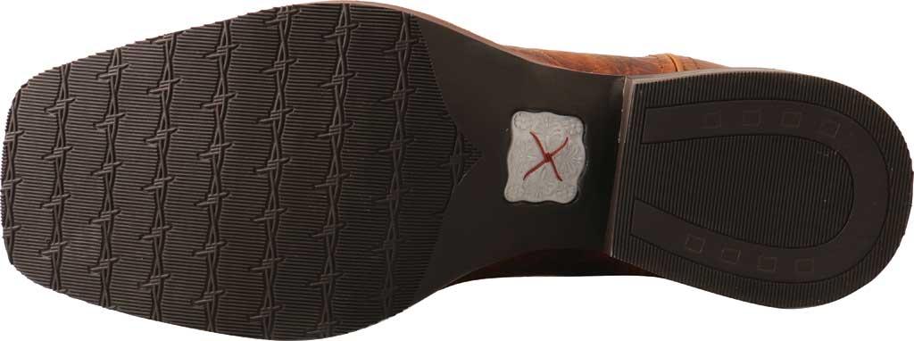 "Men's Twisted X MRS0065 12"" Ruff Stock Cowboy Boot, Peanut/Burgundy Full Grain Leather, large, image 2"
