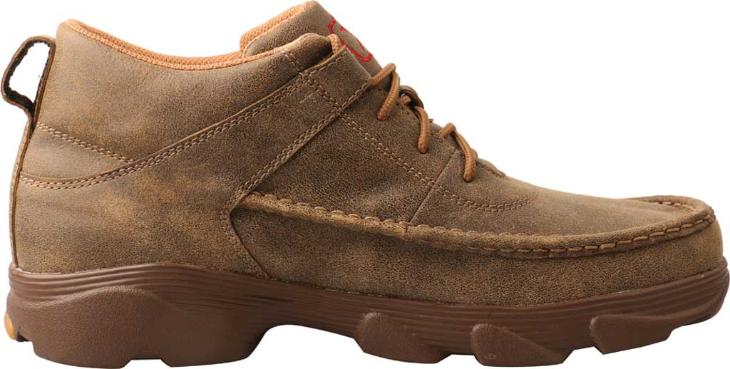 """Men's Twisted X MIE0002 4"""" Crossover Moc Toe Boot, Bomber/Bomber Full Grain Leather, large, image 2"""