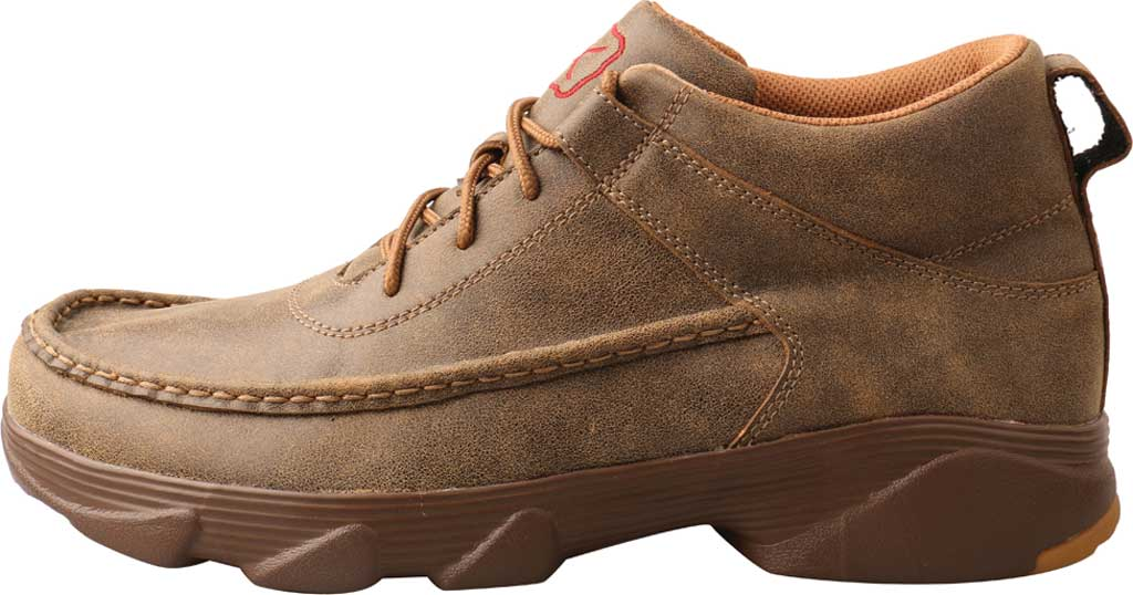 """Men's Twisted X MIE0002 4"""" Crossover Moc Toe Boot, Bomber/Bomber Full Grain Leather, large, image 3"""