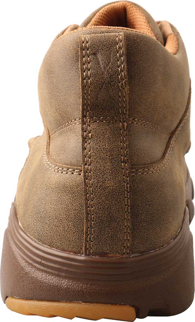 """Men's Twisted X MIE0002 4"""" Crossover Moc Toe Boot, Bomber/Bomber Full Grain Leather, large, image 4"""