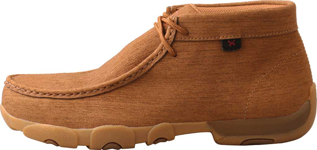 Men's Twisted X MDMST06 Work Chukka Steel Toe Driving Moc, Clay/Clay Hybrid Performance Leather, large, image 2