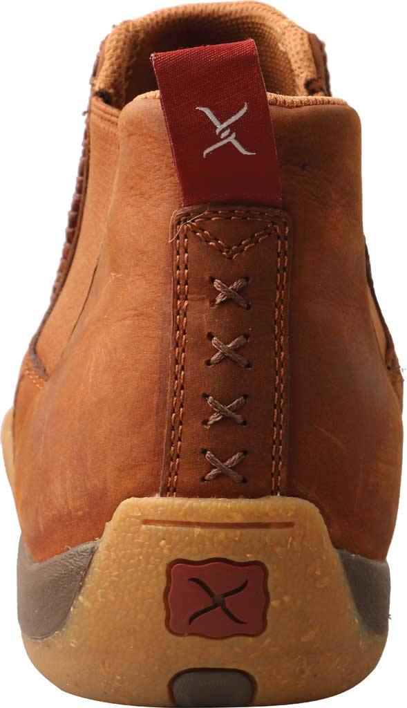 """Men's Twisted X MDMG004 4"""" Chelsea Driving Moc, Tan/Spice Full Grain Leather, large, image 2"""