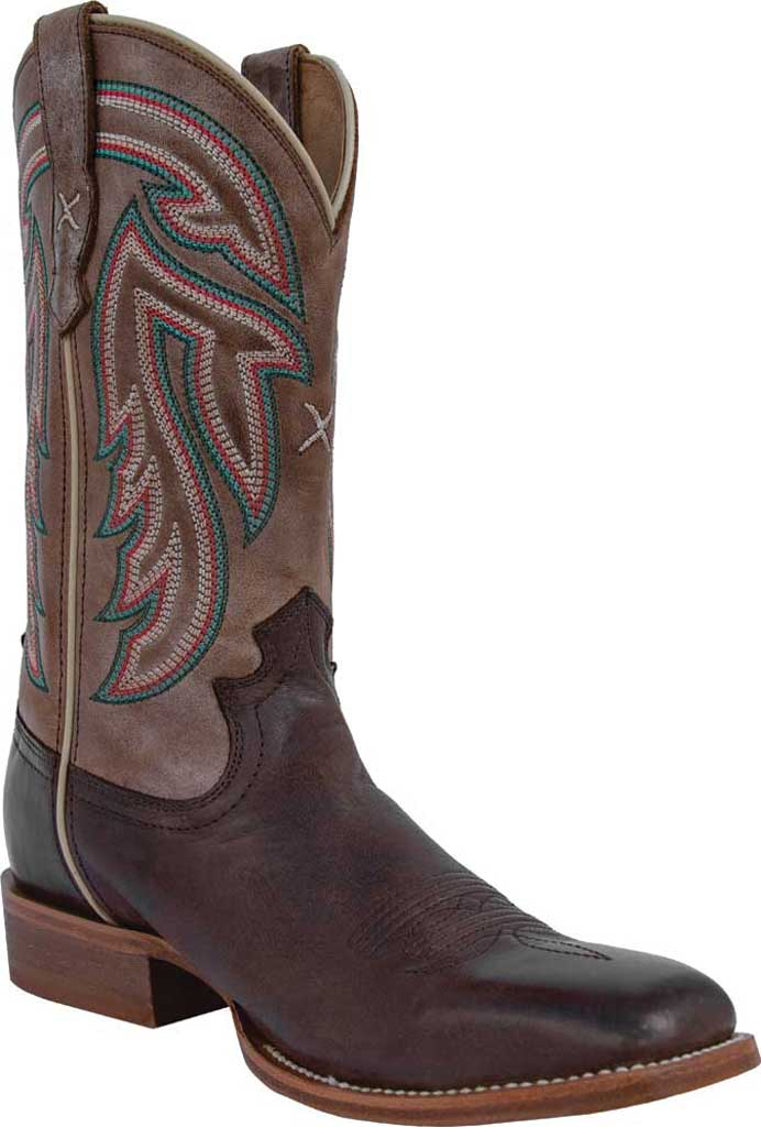 """Women's Twisted X WRAL016 11"""" Rancher Cowgirl Boot, Espresso/Acorn Full Grain Leather, large, image 1"""