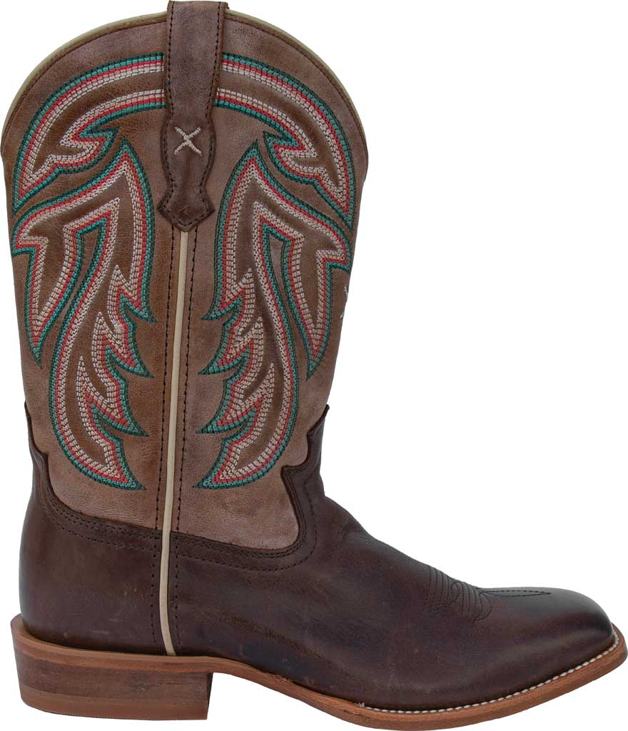"""Women's Twisted X WRAL016 11"""" Rancher Cowgirl Boot, Espresso/Acorn Full Grain Leather, large, image 2"""