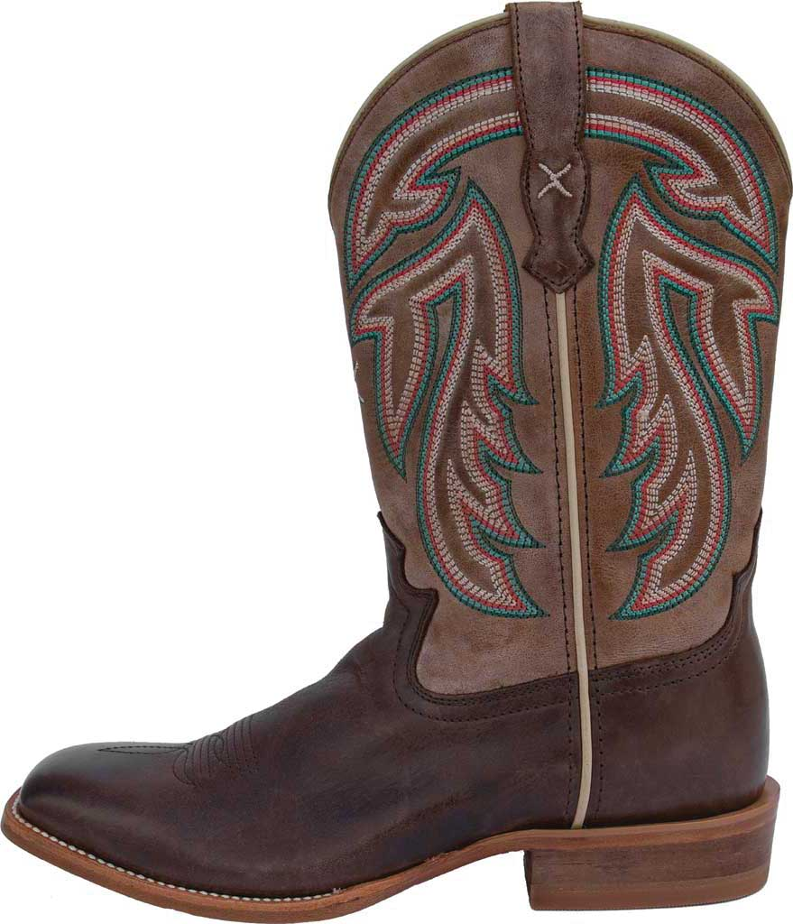 """Women's Twisted X WRAL016 11"""" Rancher Cowgirl Boot, Espresso/Acorn Full Grain Leather, large, image 3"""