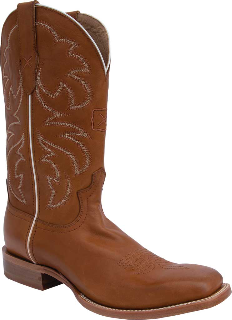 "Men's Twisted X MRAL019 12"" Rancher Cowboy Boot, Cinnamon/Tobacco Full Grain Leather, large, image 1"