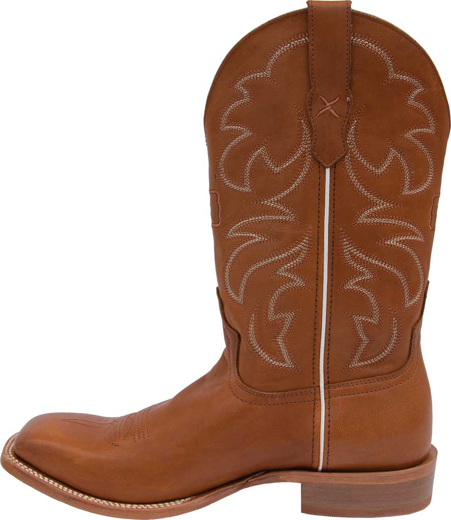 "Men's Twisted X MRAL019 12"" Rancher Cowboy Boot, Cinnamon/Tobacco Full Grain Leather, large, image 3"