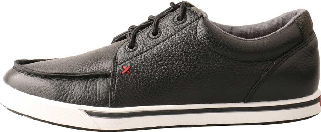 Women's Twisted X WCA0025 Kicks Sneaker, Soft Black Vegetable Tanned Full Grain Leather, large, image 3