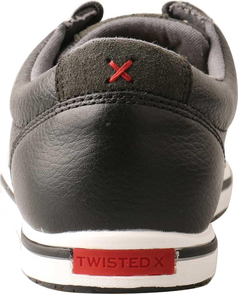 Women's Twisted X WCA0025 Kicks Sneaker, Soft Black Vegetable Tanned Full Grain Leather, large, image 4